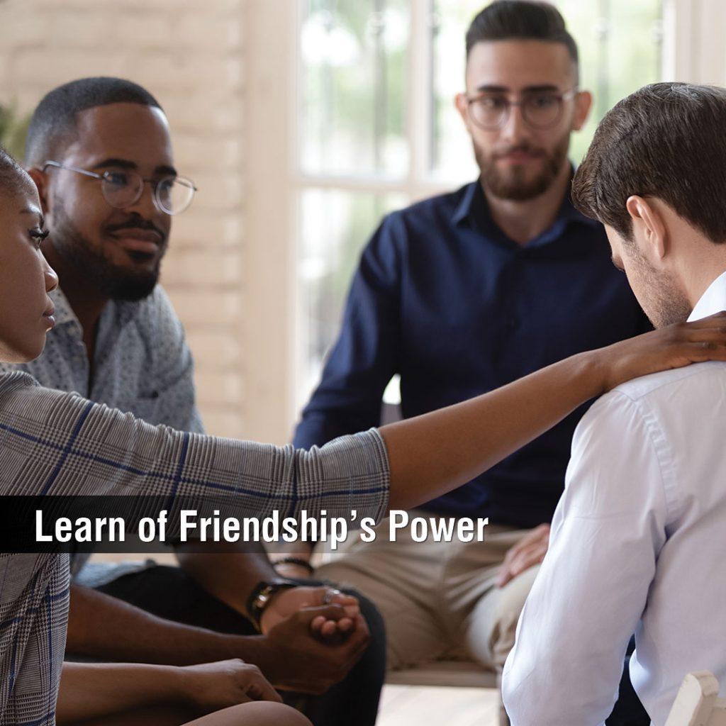 Lear of Friendship's Power